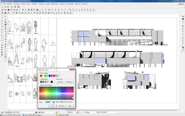 Bm cad software per la progettazione cad 2d 3d unifilare for Software per disegno 3d